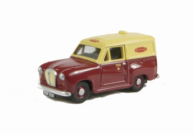 Classix by Pocketbond 1:76 Austin A35 Van British Railways