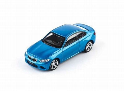 CMC Toy 1:43 BMW M2 Coupe 2017 blauw
