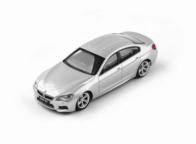 CMC Toy 1:43 BMW M6 Grand Coupe zilver