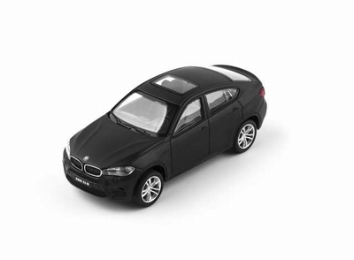 CMC Toy 1:43 BMW X6M matt zwart 2016