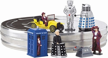 Corgi 1:36 James Bond Doctor Who in filmblik