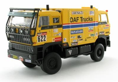 Diamondlabel 1:50 DAF Dubbelekop J de Rooy 1985