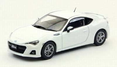 Ebbro 1:43 Subaru Brz 2012 wit