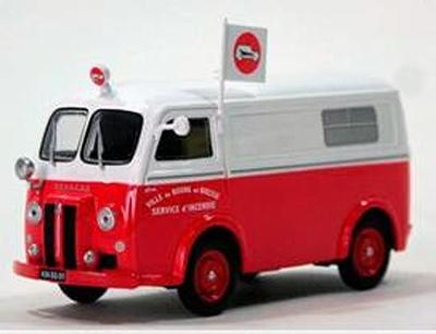 Eligor 1:43 Peugeot D3 Ambulance service Bourg en Bresse