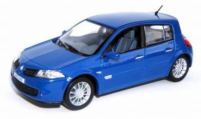 Eligor 1:43 Renault Megane RS 2006 5 deurs blauw