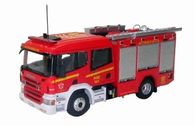 Eligor 1:43 Scania Double Cabine Iturri Bombeiros Ase 101