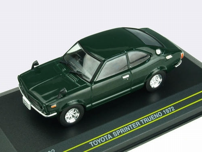 First43 1:43 Toyota Sprinter Trueno 1972 groen