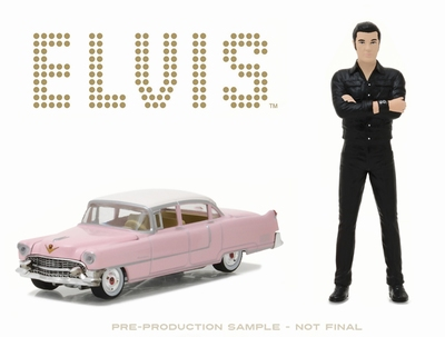 Greenlight 1:18 Elvis Presley met 1:64 Caddillac Fleetwood