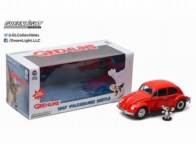 Greenlight 1:24 Volkswagen Beetle 1967 Gremlins rood