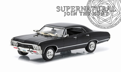 Greenlight 1:43 Chevrolet Impala 1967 Supernatural TV Serie