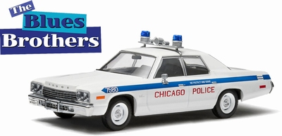 Greenlight 1:43 Dodge Monaco Chicago Police The Blues Broth