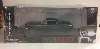 Greenlight 1:43 Ford Mustang Bullitt Steve McQueen