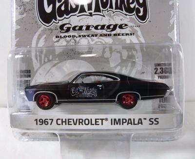 Greenlight 1:64 Chevrolet Impala SS 1967 Gas Monkey Garage