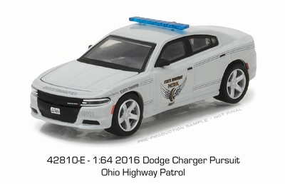 Greenlight 1:64 Dodge Charger Pursuit Ohio Highway Patrol