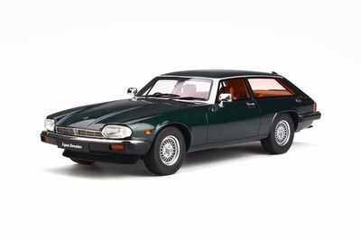 GT Spirit 1:18 Jaguar XJS LYNX Eventer British racing green