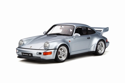 GT Spirit 1:18 Porsche 911 Carrera RS 3.8 Polar Zilver