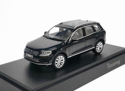 Herpa 1:43 Volkswagen Touareg zwart