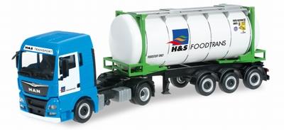 Herpa MAN TGX XLX Euro 6 swapcontainer semitrailer