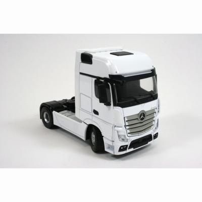 Hollandoto 1:50 Mercedes-Benz Actros MP4 Gigaspace 4x2 wit