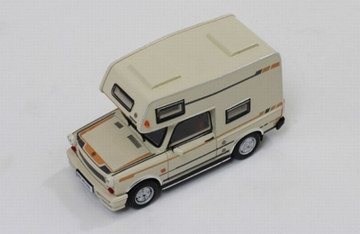 IST 1:43 Trabant 601 Wohnmobil 1980 beige/ camper