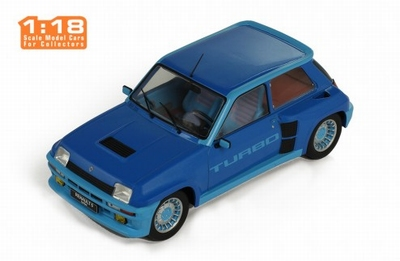 IXO 1:18 Renault 5 Turbo 1 metallic blauw 1981
