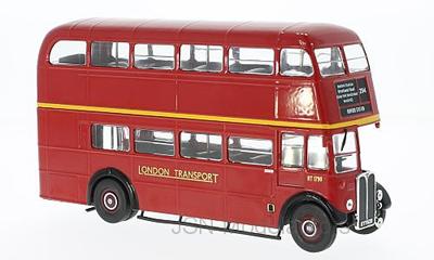 IXO 1:43 AEC Regent III RT London Transport, dubbeldekbus