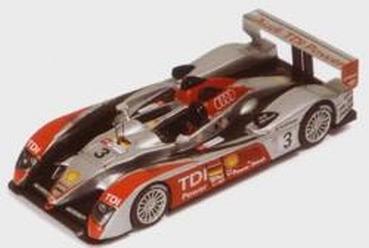 IXO 1:43 Audi R10 Le Mans No 3 Joest Luhr Premat Rockf 2007