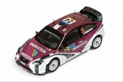 IXO 1:43 Ford Focus RS07 WRC No24 P van Merksteijn - E Berkh