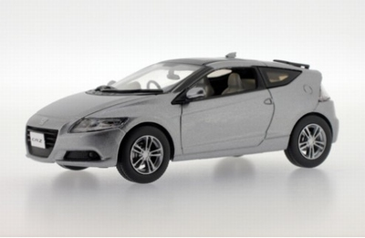 J collection 1:43 Honda CR-Z 2010 zilver