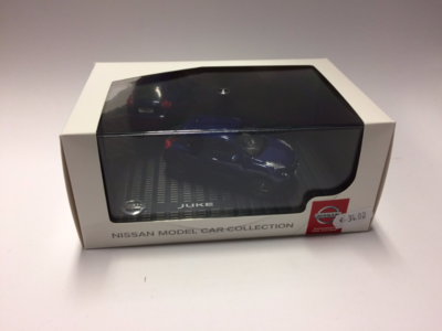 Nissan Model Car Collection 1:43 Nissan Juke blauw