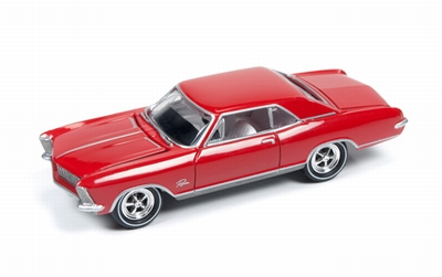 Johnny Lightning 1:64 Buick Riviera 1965 rood
