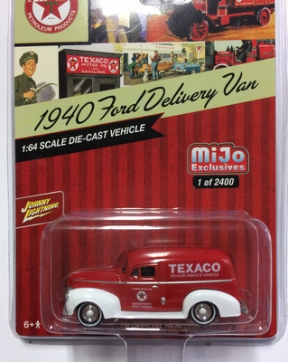 Johnny Lightning 1:64 Ford Delivery Van Texaco
