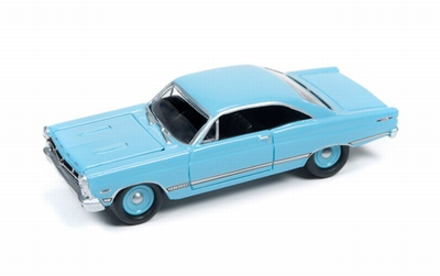 Johnny Lightning 1:64 Ford Fairlane 500 XL 1967 blauw