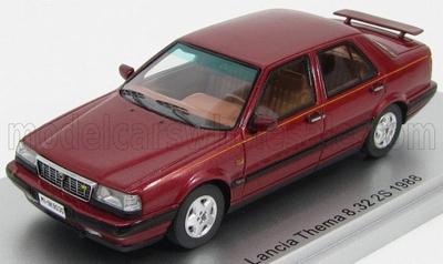 KESS 1:43 Lancia Thema 8.32 2S (Thema Ferrari ) 1988 rood