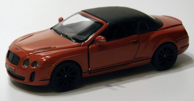 Kinsmart 1:38 Bentley Continental Supersports Convertible or