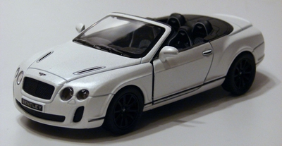 Kinsmart 1:38 Bentley Continental Supersports Convertible wi