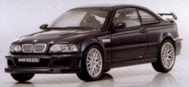 Kyosho 1:43 BMW M3 GTR zwart