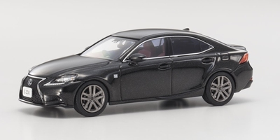 Kyosho 1:43 Lexus IS 350 F Sport Starlight zwart