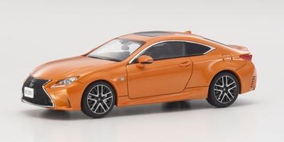 Kyosho 1:43 Lexus RC350 F Sport oranje