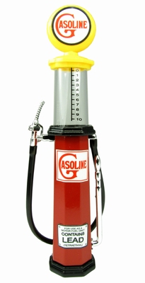 Lucky diecast 1:18 Benzinepomp met meetglas Gasoline