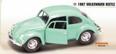 Lucky Diecast 1:24 Volkswagen Beetle groen