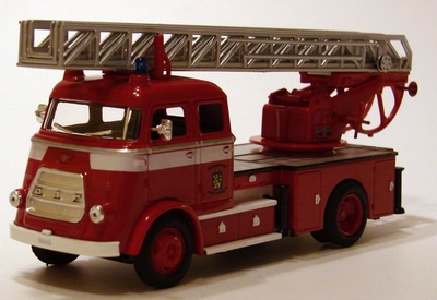 Yatming 1:43 Daf A1600 brandweer ladderwagen Leeuwarden