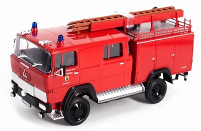 Lucky Diecast 1:43 Magirus 170DII Brandweer 1978
