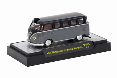 M2 Machines 1:64 Volkswagen Microbus 15 Window USA Model