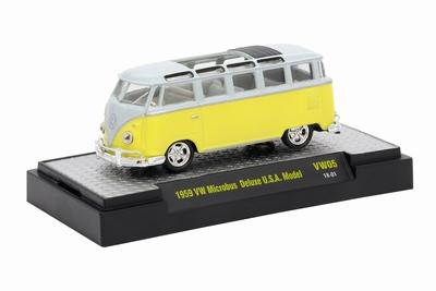 M2 Machines 1:64 Volkswagen Microbus Delux 1959 USA Model