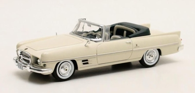 Matrix 1:43 Chryser Dual Ghia Convertible wit