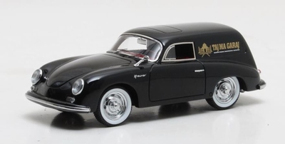 Matrix 1:43 Porsche 356 Kreuzer Shooting Brake zwart
