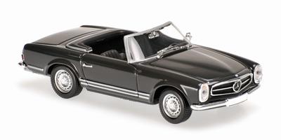 Maxichamps 1:43 Mercedes Benz 230 SL 1965 grijs