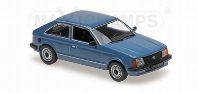 Maxichamps 1:43 Opel Kadett Salon 1979 blauw