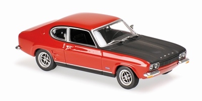 Maxichamps 1:43 Ford Capri RS 1969 rood